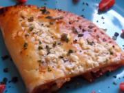 """Backen: Bunt gefüllte Blätterteig-Pizza """"Calzone"""" - Rezept"""
