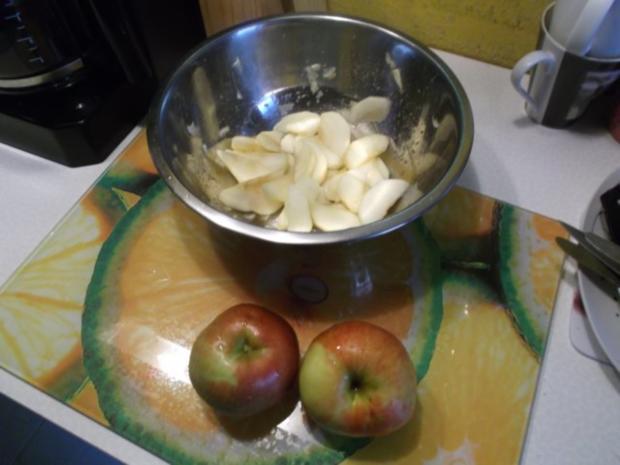 Kuchen: Apfelkuchen mit Käsedecke - Rezept - Bild Nr. 2