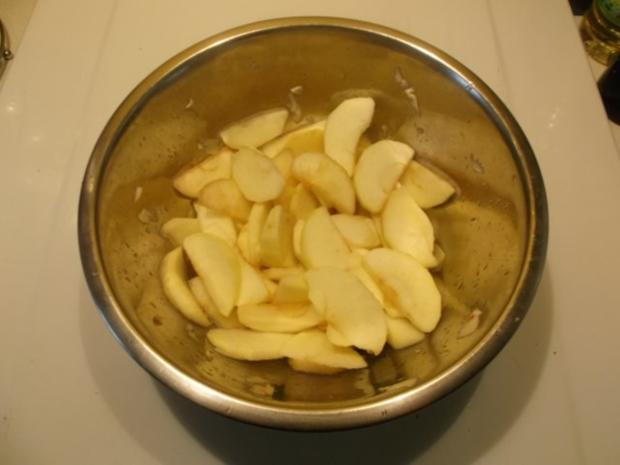 Kuchen: Apfelkuchen mit Käsedecke - Rezept - Bild Nr. 4
