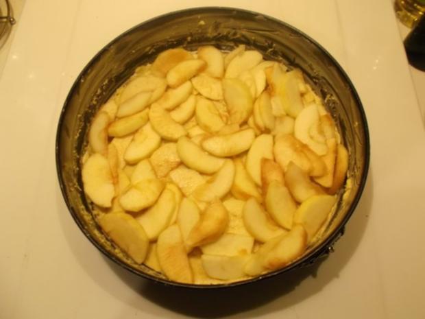 Kuchen: Apfelkuchen mit Käsedecke - Rezept - Bild Nr. 8