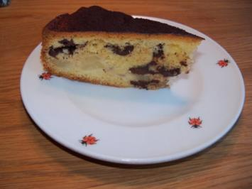 Schokoladen- Birnentorte - Rezept