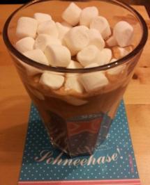 Heiße Schokolade mit Marshmallows - Rezept