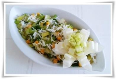 ❀Bunte Gemüse-Reispfanne zum Valentinstag❀ - Rezept