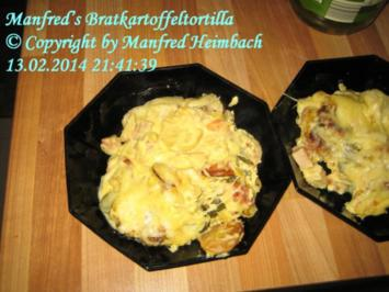 Kartoffeln – Manfred's Bratkartoffeltortilla - Rezept