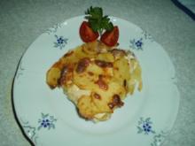 Aufläufe: Pikanter Kartoffel-Auflauf - Rezept