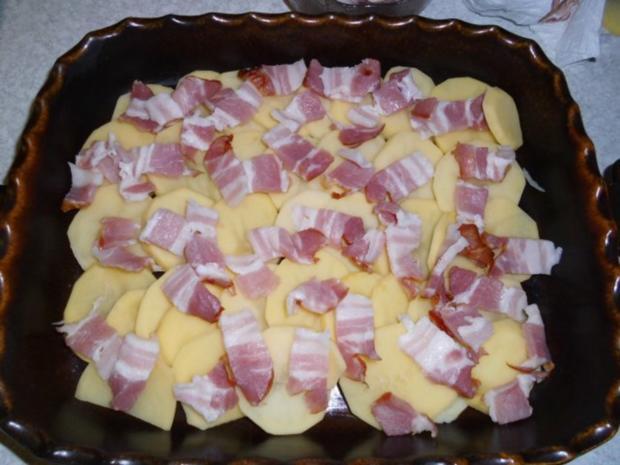 Aufläufe: Pikanter Kartoffel-Auflauf - Rezept - Bild Nr. 6
