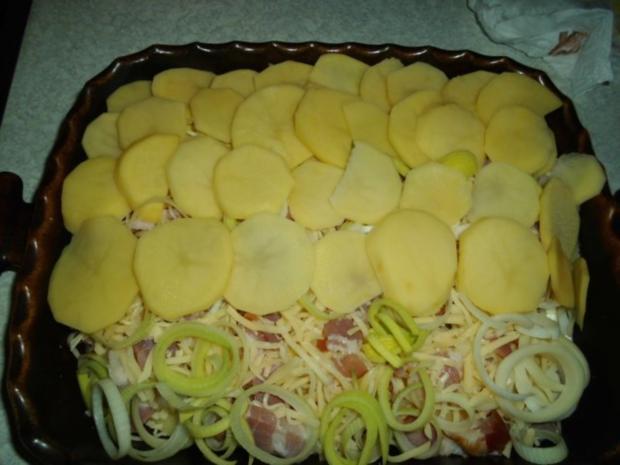 Aufläufe: Pikanter Kartoffel-Auflauf - Rezept - Bild Nr. 9