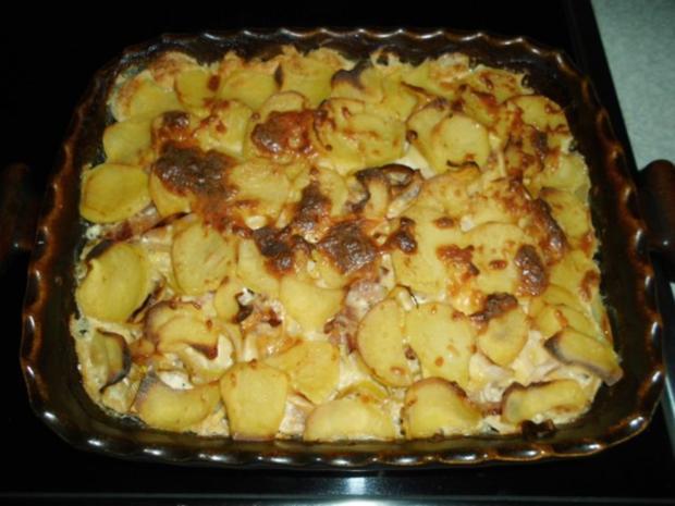 Aufläufe: Pikanter Kartoffel-Auflauf - Rezept - Bild Nr. 11