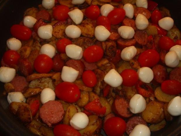 Kartoffel-Cabanossi-Pfanne - Rezept - Bild Nr. 4