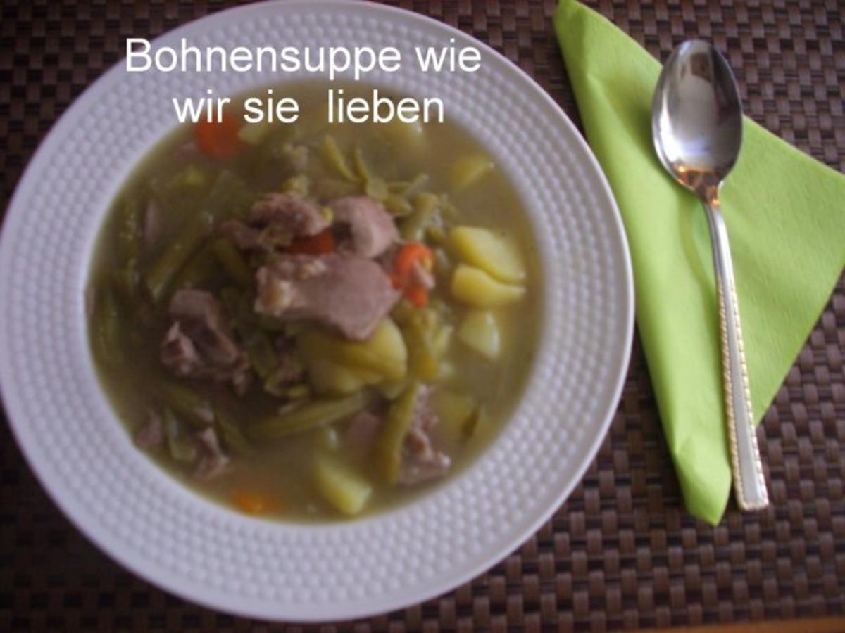 Grüne Bohnensuppe - Rezept Gesendet von biggipu