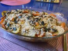 Geflügel: Karibisches Hähnchen mit Ofengemüse - Rezept