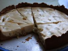 Kuchen: Käse-Mandel-Kuchen mit Weintrauben - Rezept