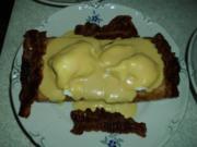 Pikanter Toast mit pochierten Eiern - Rezept