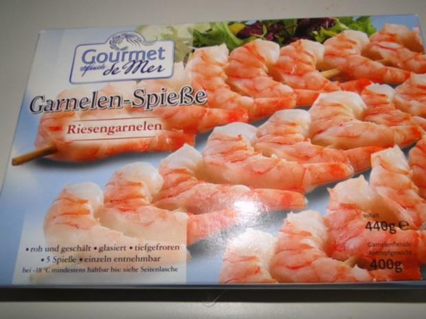 Garnelen und Tintenfischringe, gebraten in Knoblauch-Kräuter-Butter-Sauce - Rezept - Bild Nr. 4