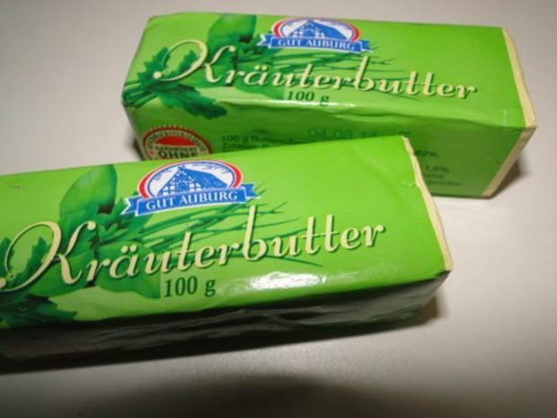 Garnelen und Tintenfischringe, gebraten in Knoblauch-Kräuter-Butter-Sauce - Rezept - Bild Nr. 6