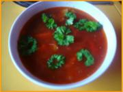 Tomaten-Mett-Gemüsesuppe - Rezept