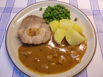 Schweinerollbraten in Biersoße - Rezept
