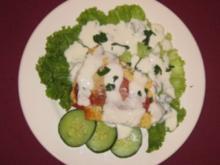 Paprikaschoten gefüllt mit Ei u. Schafskäse überbacken mit Joghurtguss - Paprika-Bürek - Rezept