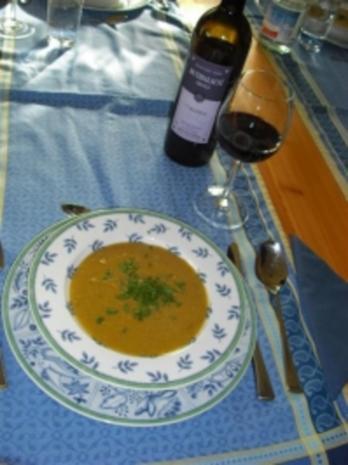 Linsen-Kastanien-Suppe mit Curry - Rezept - Bild Nr. 3
