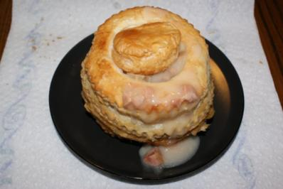Rezept: Blätterteig-Pasteten