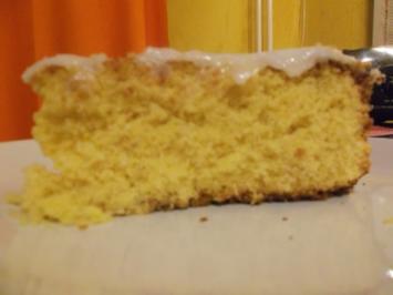 Rezept: Kuchen: Kokos-Orangenkuchen