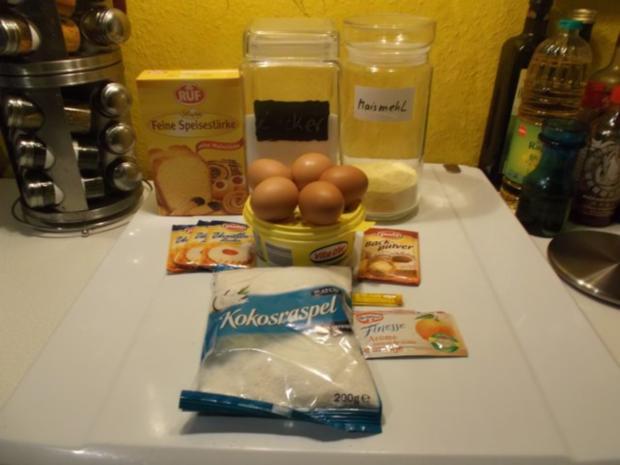 Kuchen: Kokos-Orangenkuchen - Rezept - Bild Nr. 2