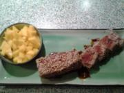 Thunfisch mit Teriyaki-Sauce - Rezept
