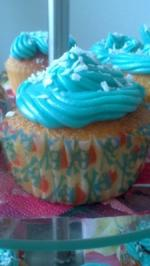 Blue Pirat Cupcakes - Rezept