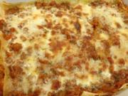 Rote Linsen-Lasagne - Rezept