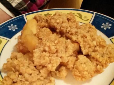Apfel-Crumble - Rezept