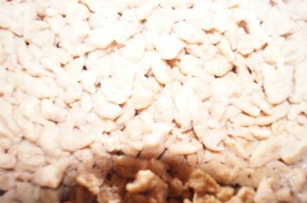 Maroni Spätzle mit Blattspinat - Rezept