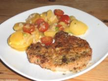 Knusper-Kotelett mit Kartoffelsalat - Rezept