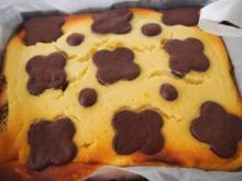 Saftiger Schoko- Topfen- Kuchen - Rezept