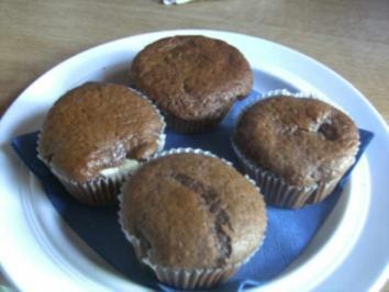 Black´n White-Muffins - Rezept