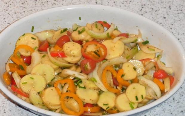 "Kartoffeln mit Süß Mariniertem Hähnchen ""Amazonas Art"" - Rezept - Bild Nr. 3"