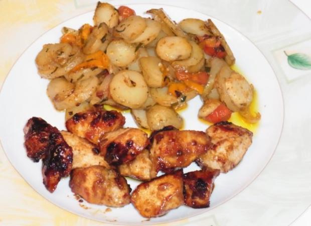 "Kartoffeln mit Süß Mariniertem Hähnchen ""Amazonas Art"" - Rezept - Bild Nr. 5"