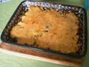 Wirsing mit Maronen und Nuß-Käsehaube - Rezept