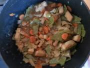 Tofu-Gemüseeintopf - Rezept