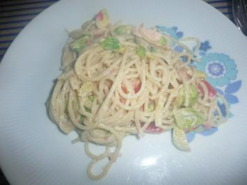 Spaghetti - Pfanne - Rezept