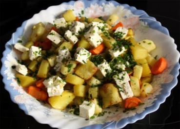 Rezept: Kartoffel-Kohlrabi-Pfanne