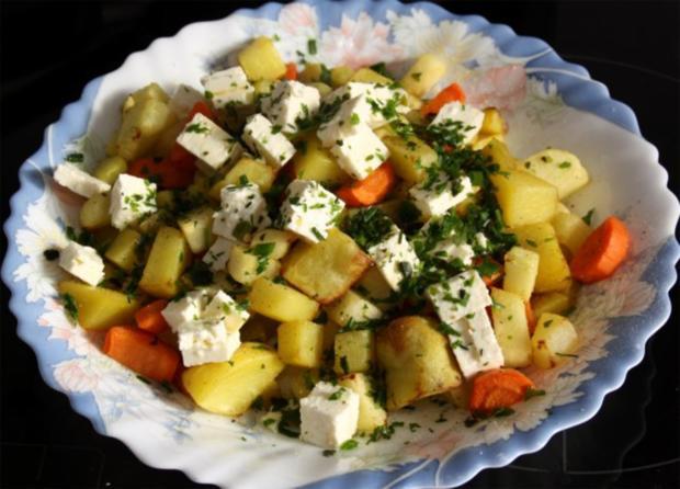 Kartoffel-Kohlrabi-Pfanne - Rezept