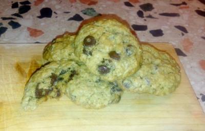 kernige Walnuss-Schokoladen Cookies - Rezept