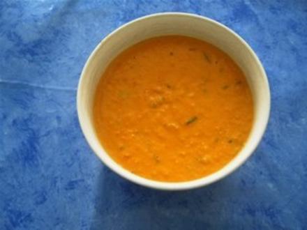 Indische Suppe mit Pastinaken, Kokosmilch und Mango - Rezept