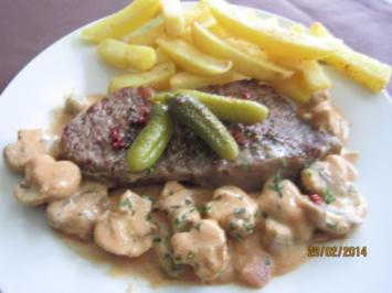 Hüftsteak Stroganoff - Rezept
