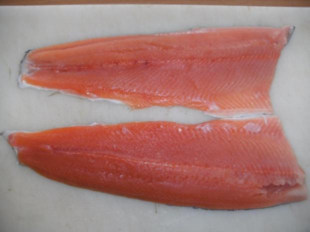 Fisch: Lachsforelle, graved Art - Rezept - Bild Nr. 2