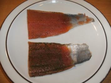 Rezept: Fisch: Lachsforelle, graved Art