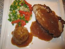 Orientalischer Schweinekrustenbraten - Rezept