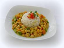Buntes Kichererbsen-Curry - Rezept
