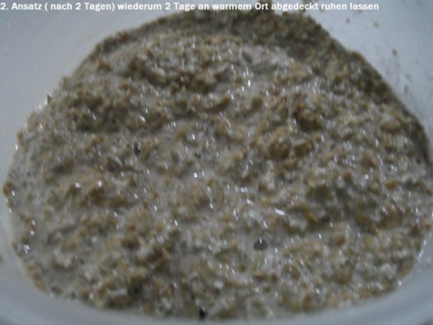 Anstellgut zum Ansetzen von Sauerteig selber herstellen - Rezept - Bild Nr. 2