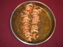 Provençalische Crevetten a la Grimaud oder Roquefortbirnen - Rezept
